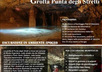 """Gita alla Grotta """"Punta degli Stretti"""""""