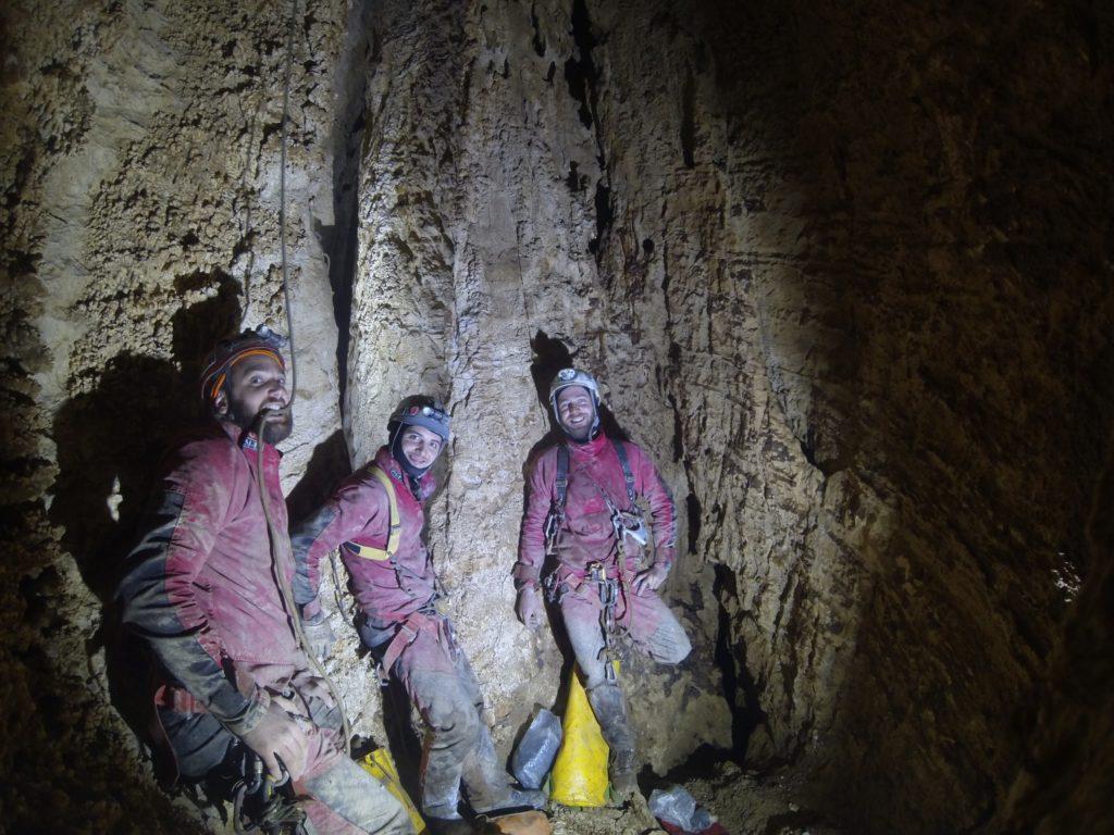 Grotta di Monte Cucco - Risalita Cascata della Fluoresceina