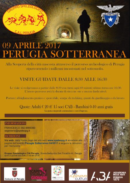 Perugia Sotterranea 04/2017