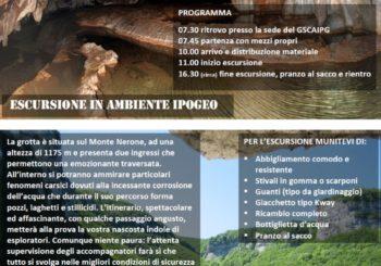 """Escursione alla """"Grotta dei 5 Laghi"""""""