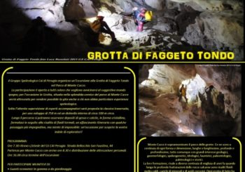 Escursione alla Grotta di Faggeto Tondo