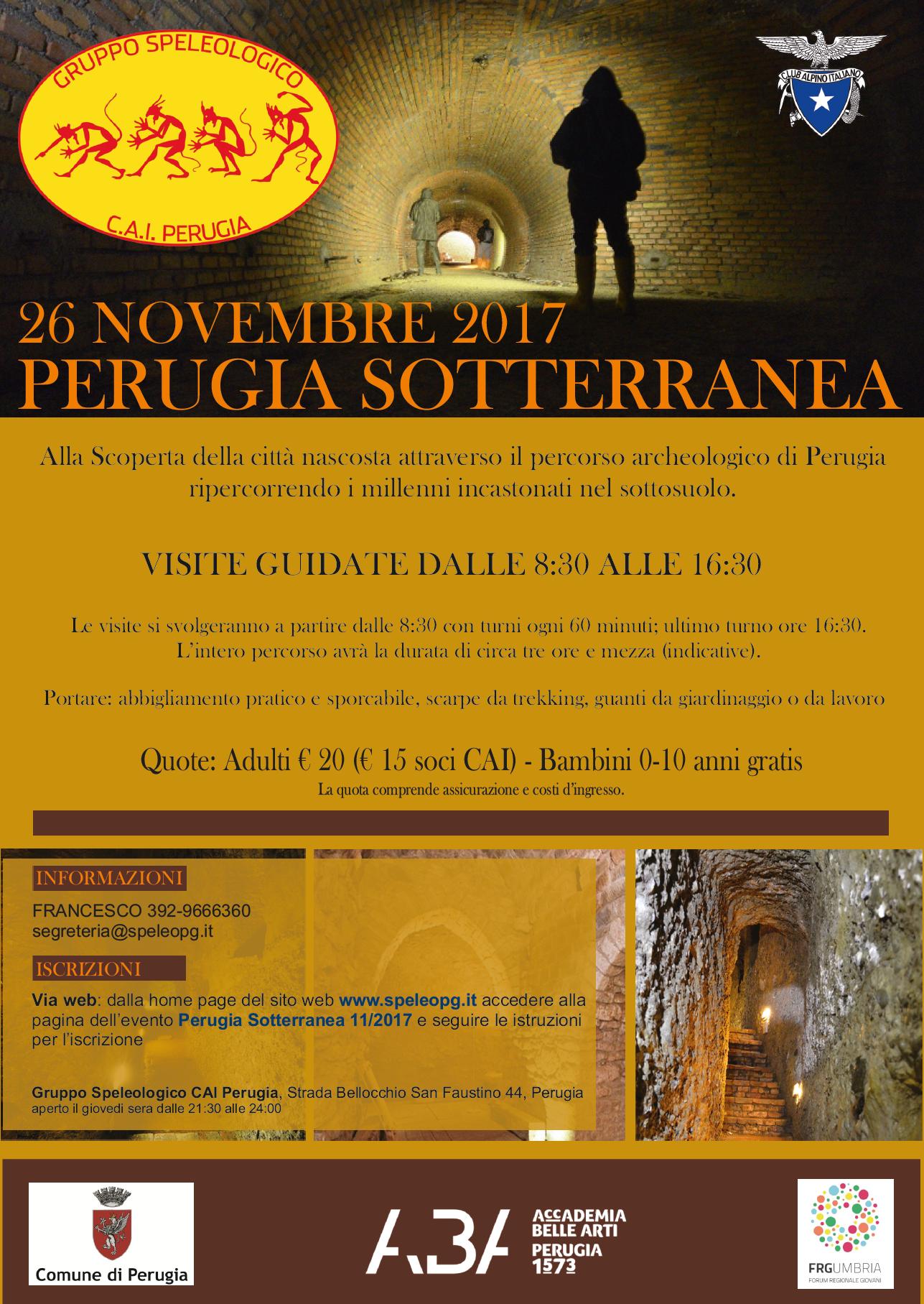 Perugia Sotterranea 11/2017