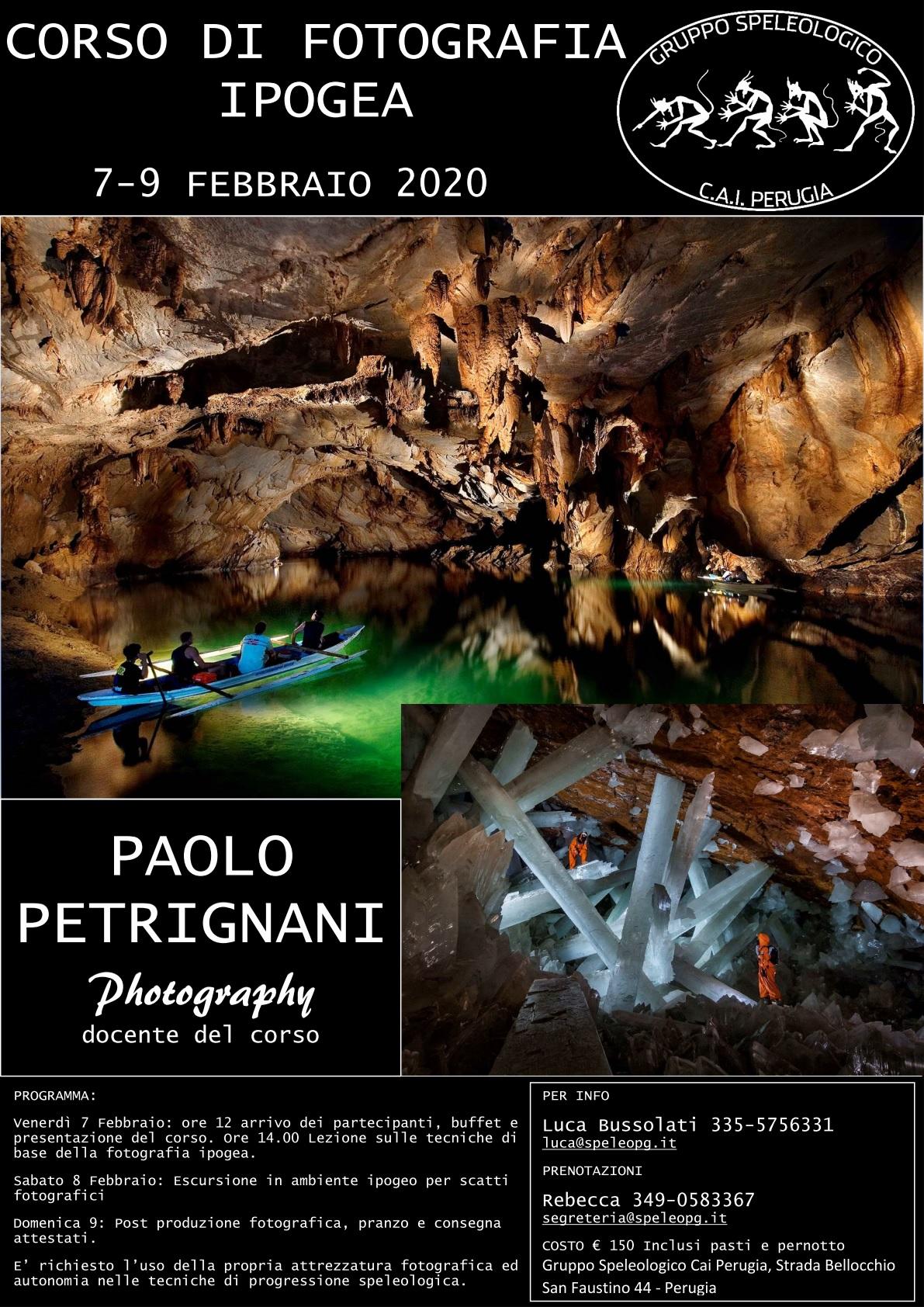 Corso di Fotografia Ipogea